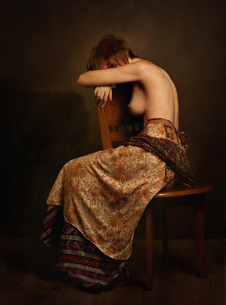 A piece of fine art art photography titled Roza by Zachar Rise