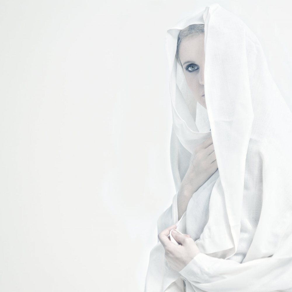 A piece of fine art art photography titled Marion In White by donato bellomo