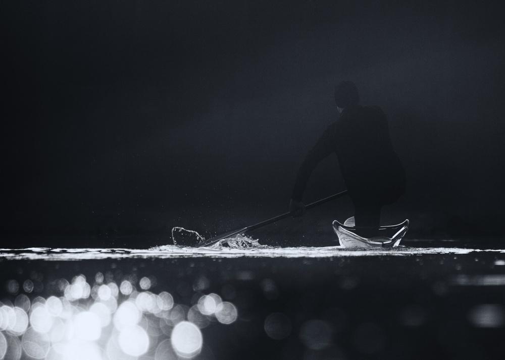 A piece of fine art art photography titled Training by Robert Adamec