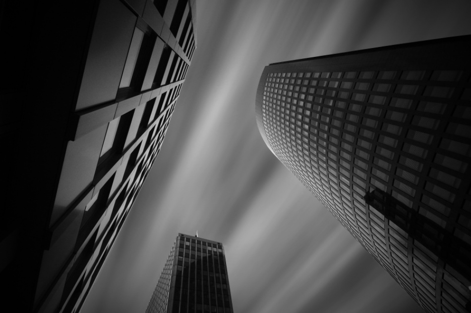 A piece of fine art art photography titled Downtown by Helmut Kaczmarek jr.