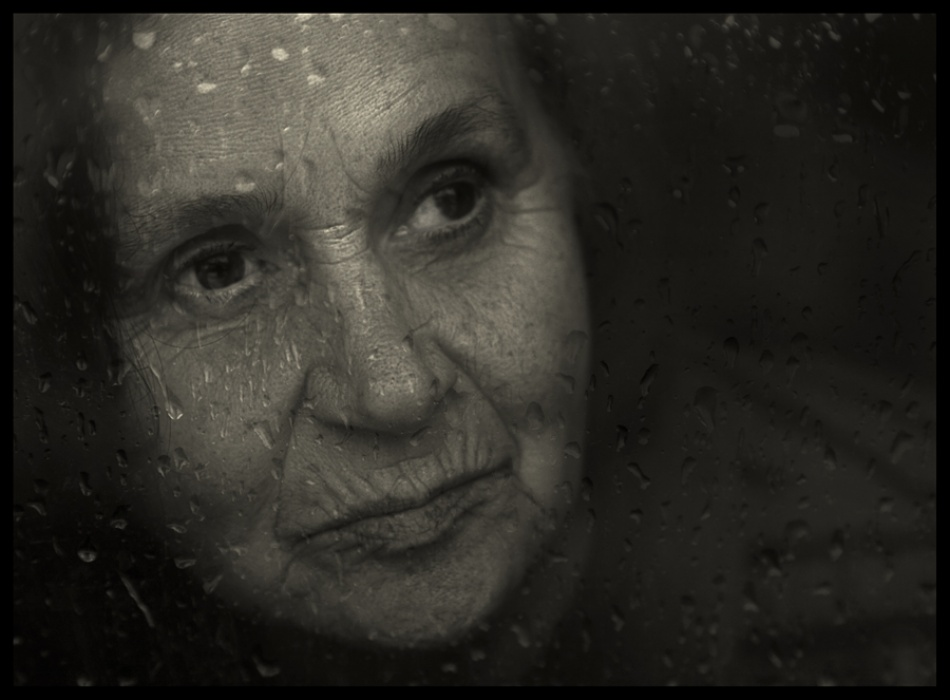 A piece of fine art art photography titled Rainy Day by julia strohmaier