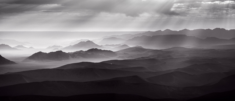 Namib Desert by air