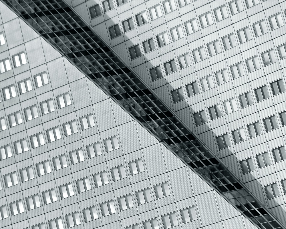 A piece of fine art art photography titled Many Windows 2 by Henk van Maastricht