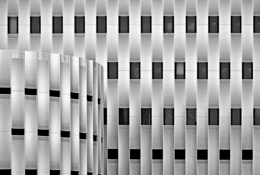 A piece of fine art art photography titled Parking Garage by Henk van Maastricht