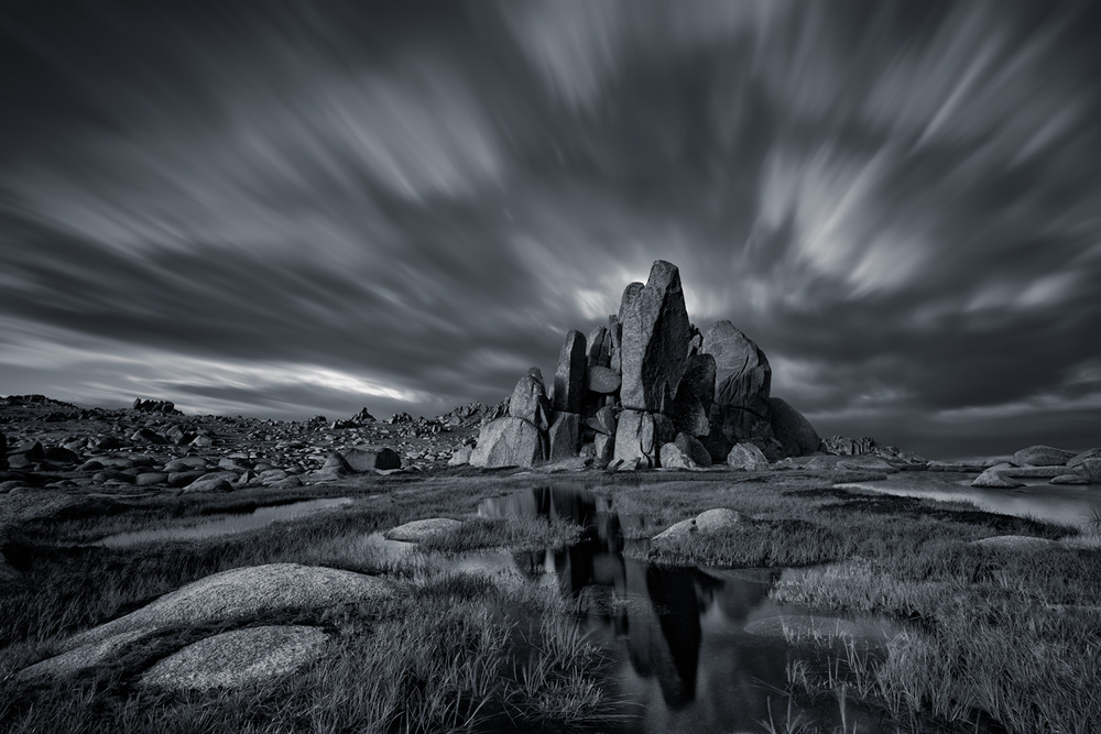 A piece of fine art art photography titled Mt Thredbo by Jingshu Zhu