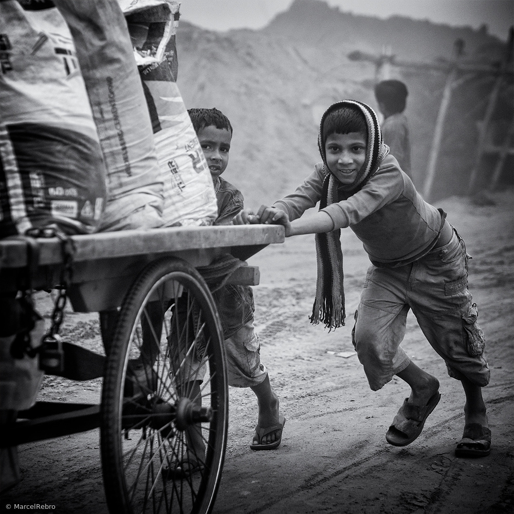 View this piece of fine art photography titled Kid's life in Bangladesh by Marc Apers