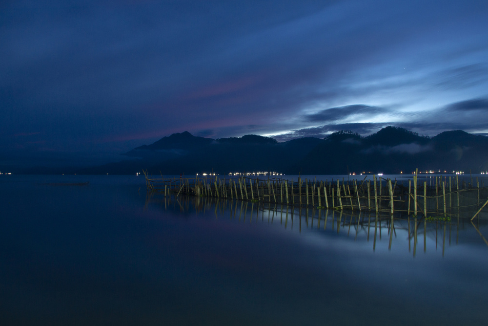 A piece of fine art art photography titled Lake Laut Tawar by Ganda Prakasa