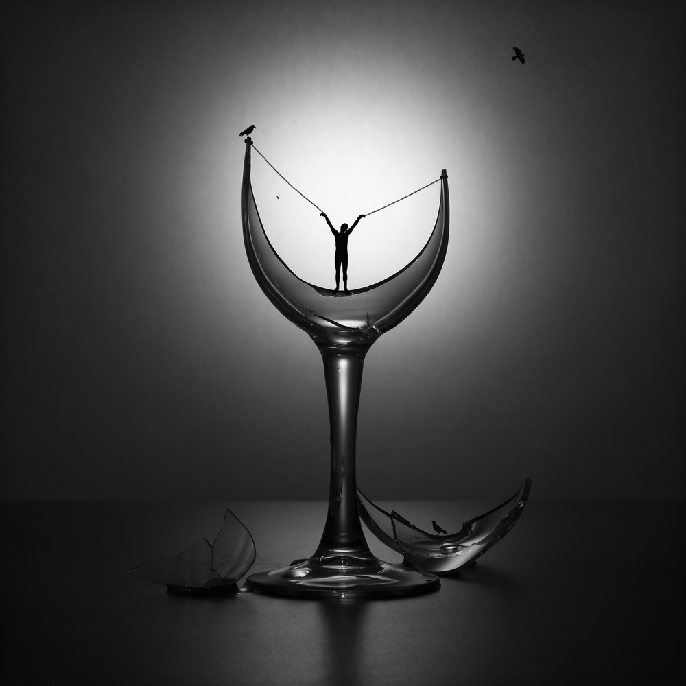 A piece of fine art art photography titled The Hangover Syndrome by Victoria Ivanova