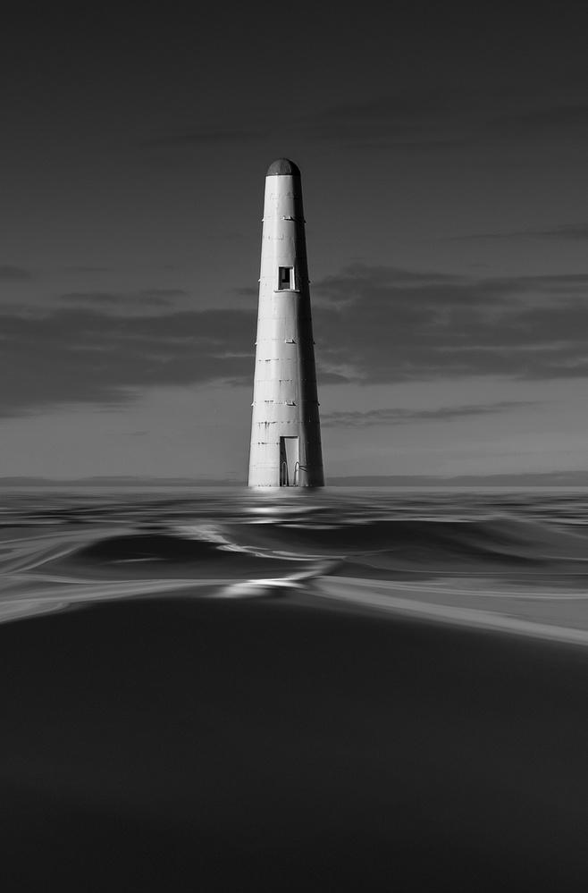 A piece of fine art art photography titled Lone Beacon by Ricardo Da Cunha