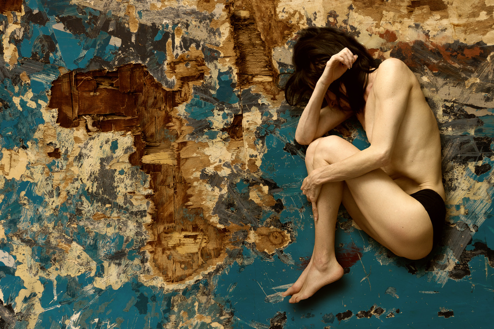 A piece of fine art art photography titled Empty Space by Frank Gustrau