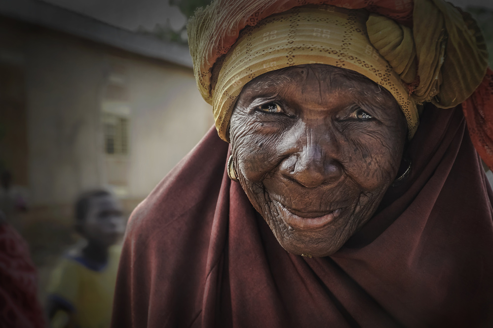 A piece of fine art art photography titled Niger by ELİF TANIR