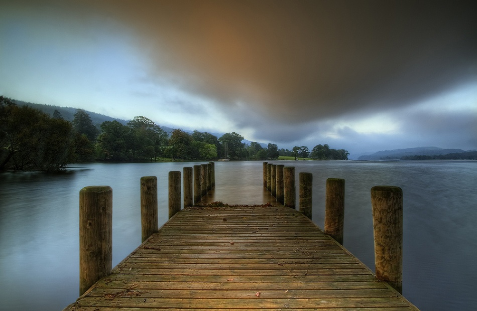A piece of fine art art photography titled Coniston Water by Grzegorz Miderski