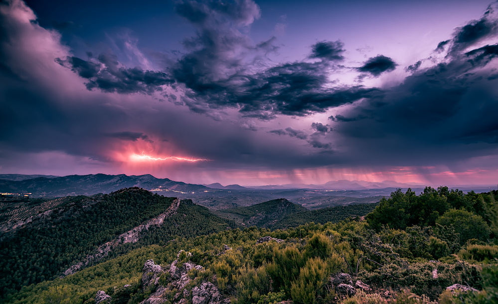 Storm over cazorla
