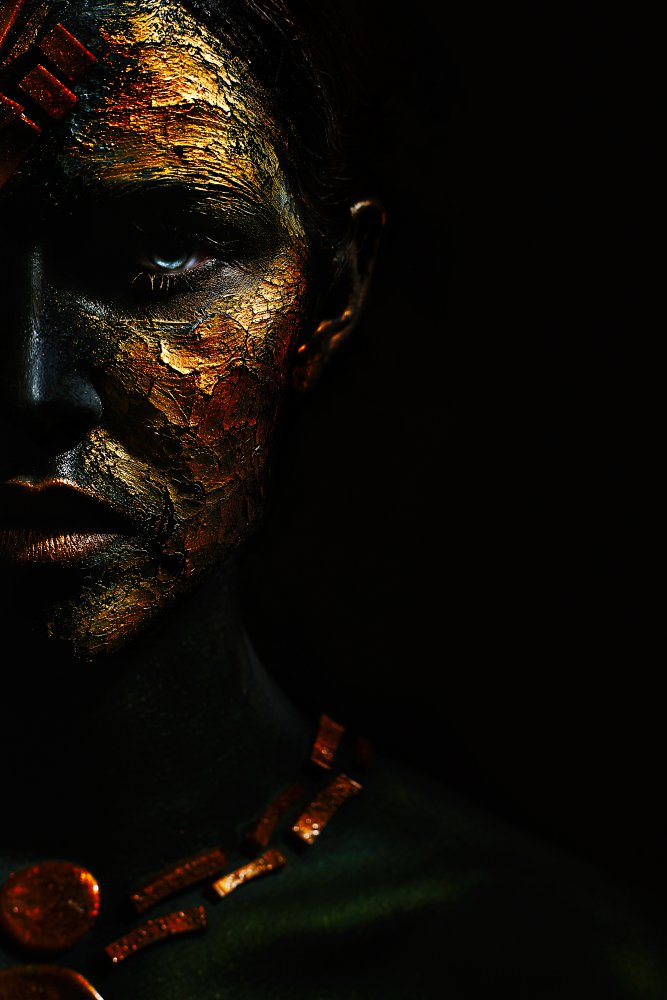 A piece of fine art art photography titled Concueror by Ivan Kovalev