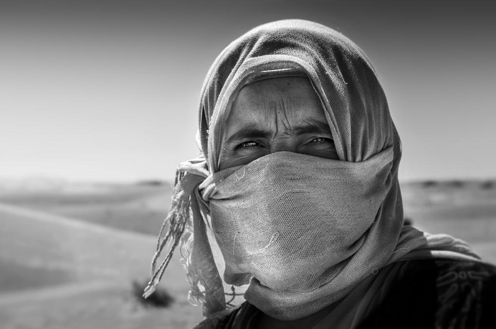 A piece of fine art art photography titled Living In the Desert by Norbert Becke