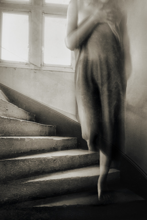 A piece of fine art art photography titled You Don't Have to Stay Forever by Charlaine Gerber
