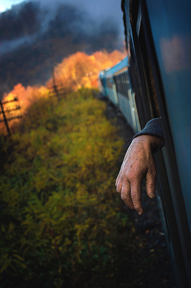 A piece of fine art art photography titled Midday Express by Alex Robciuc