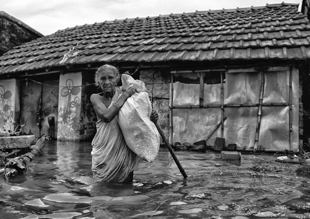 A piece of fine art art photography titled Last Belonging by Avishek Das