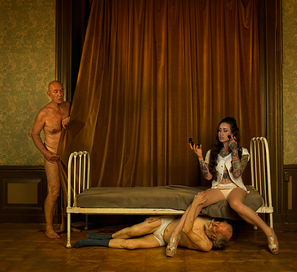 A piece of fine art art photography titled Busy by Peter Kemp