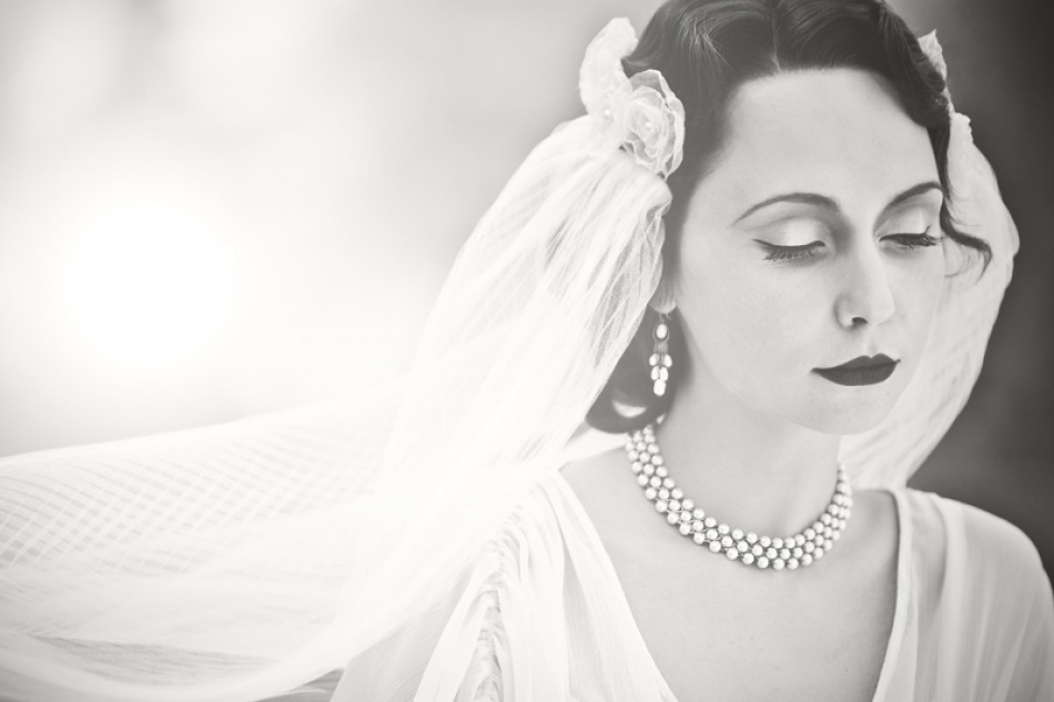 A piece of fine art art photography titled Bride by R.D