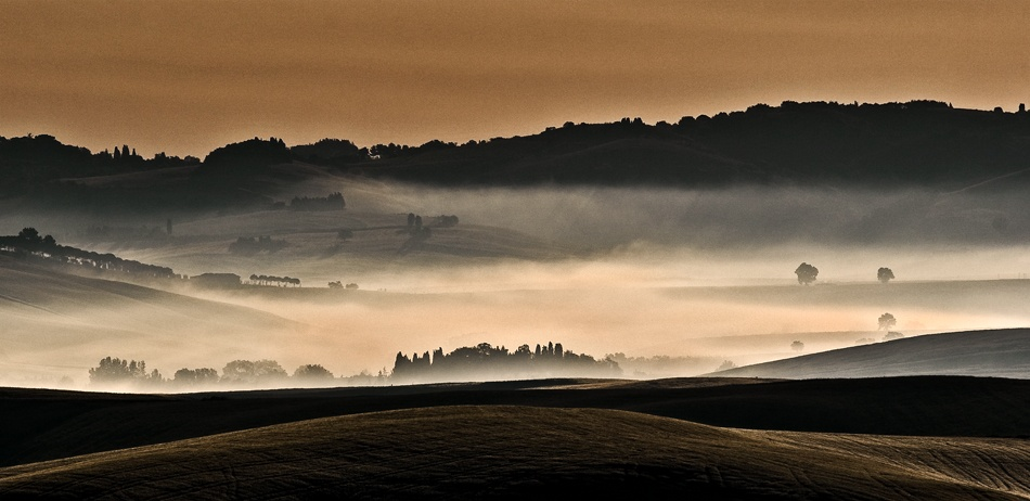 A piece of fine art art photography titled To the Dawn by andrea lorenzetti