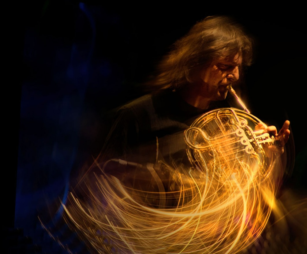 A piece of fine art art photography titled The Jazz Energy by Tatiana Gorilovsky