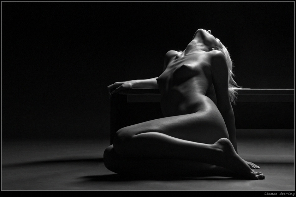 A piece of fine art art photography titled Bent Back by Thomas Doering