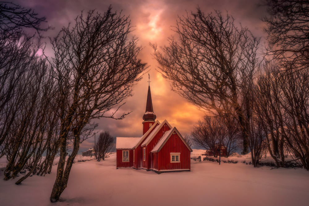 View this piece of fine art photography titled Church by Grzegorz Lewandowski