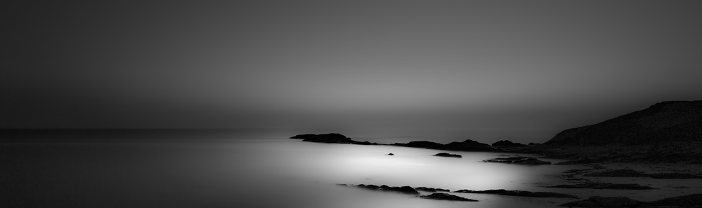 A piece of fine art art photography titled Black Shades for White Nights by Paulo Abrantes