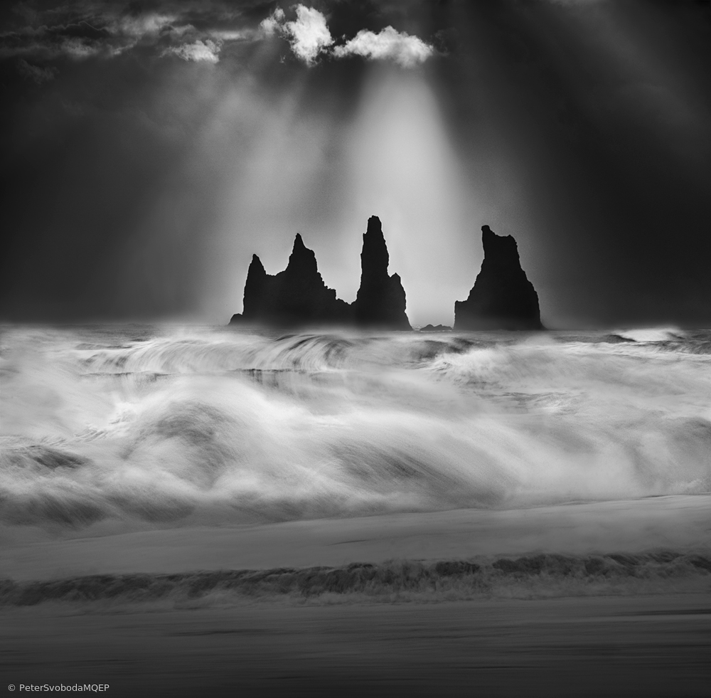 View this piece of fine art photography titled Angry sea by Peter Svoboda, MQEP