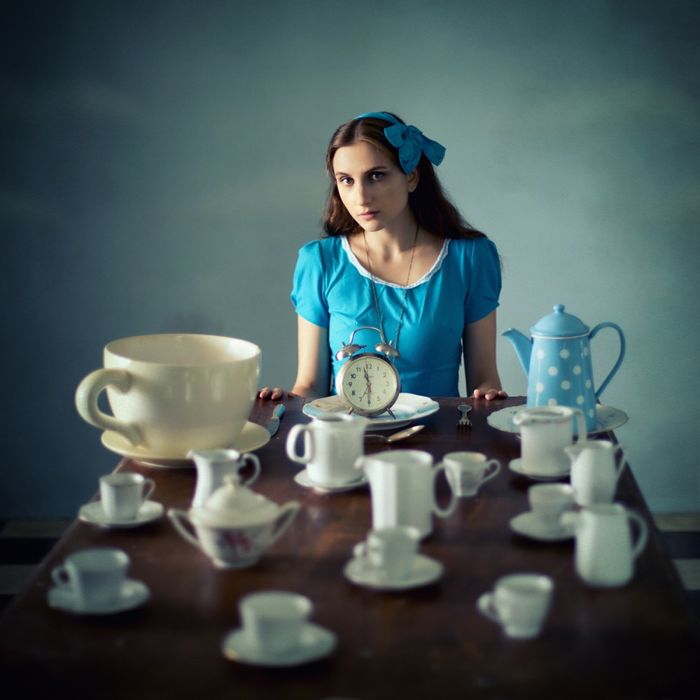 A piece of fine art art photography titled Alice by Pini Hamou