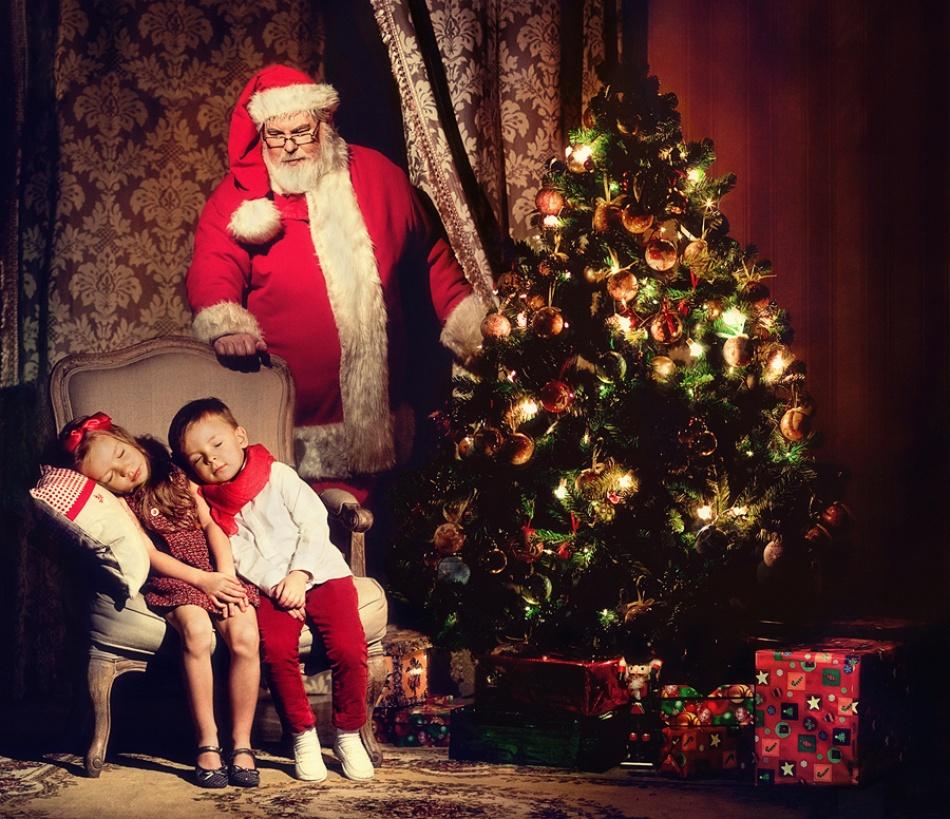 A piece of fine art art photography titled Christmas by Elena Algazina