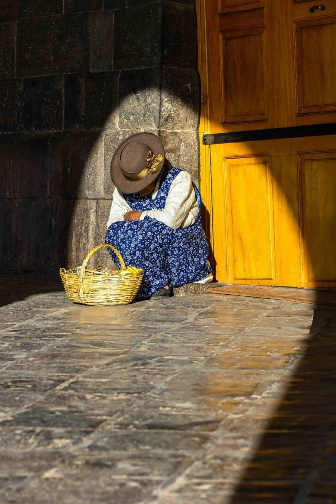 Cusco Street Seller