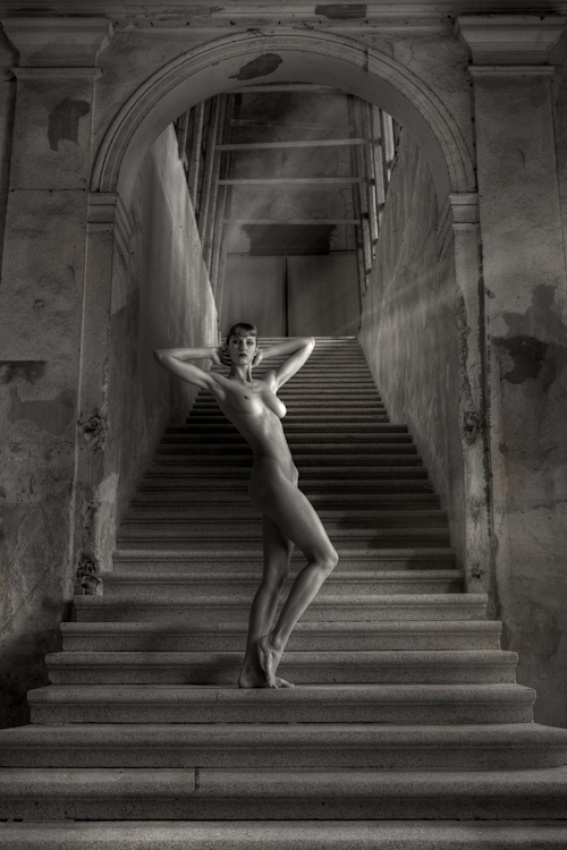 A piece of fine art art photography titled The Labyrinth by Andrea Fantoni