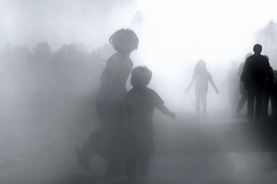 A piece of fine art art photography titled Run! by Ralf Greiner