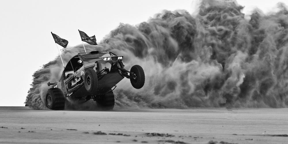 A piece of fine art art photography titled Drifting 2 by Rami Al Adwan