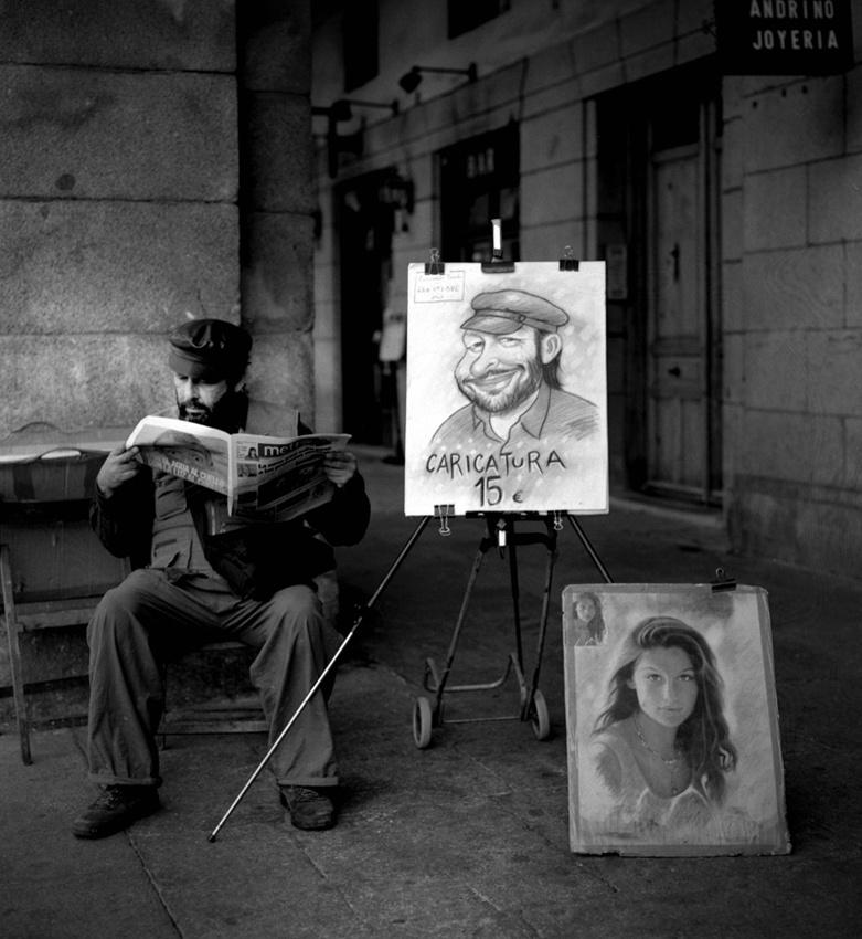 A piece of fine art art photography titled Self Portrait by Egill Ibsen