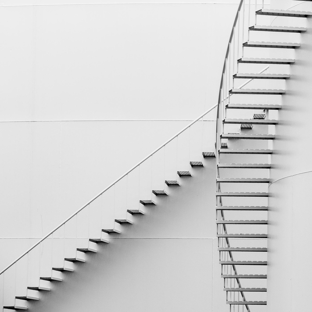 A piece of fine art art photography titled Stairway to Heaven by coastalcutt