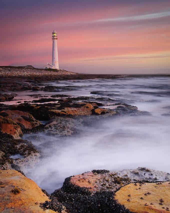 A piece of fine art art photography titled Slangkop Lighthouse by Konrad Blum