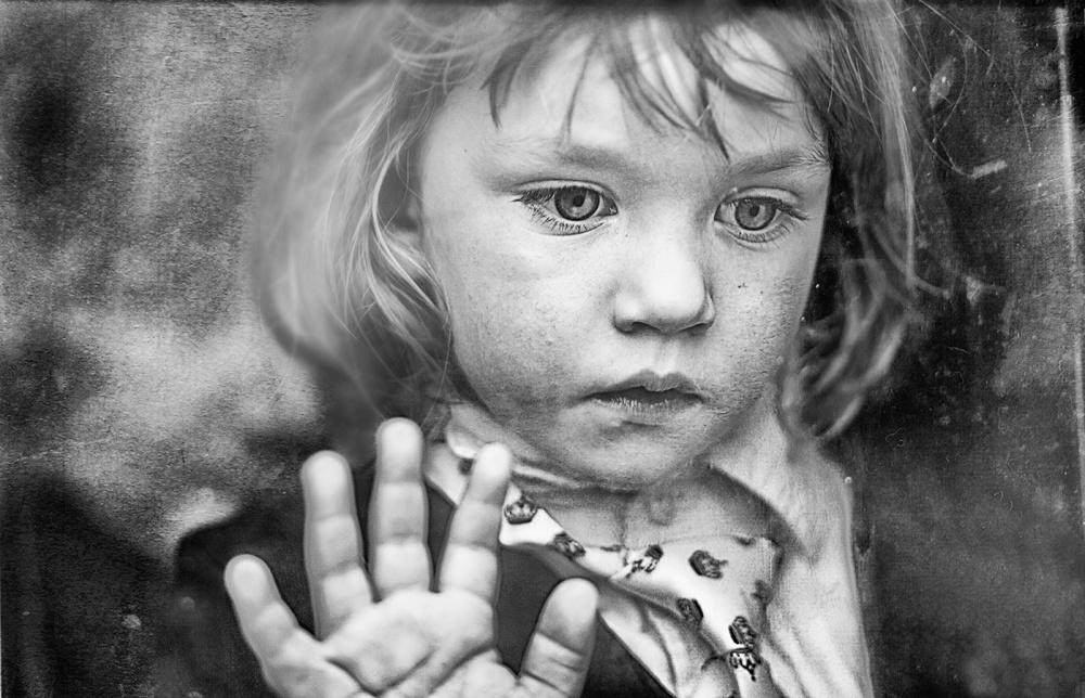 A piece of fine art art photography titled Gazing by Edyta Pekala