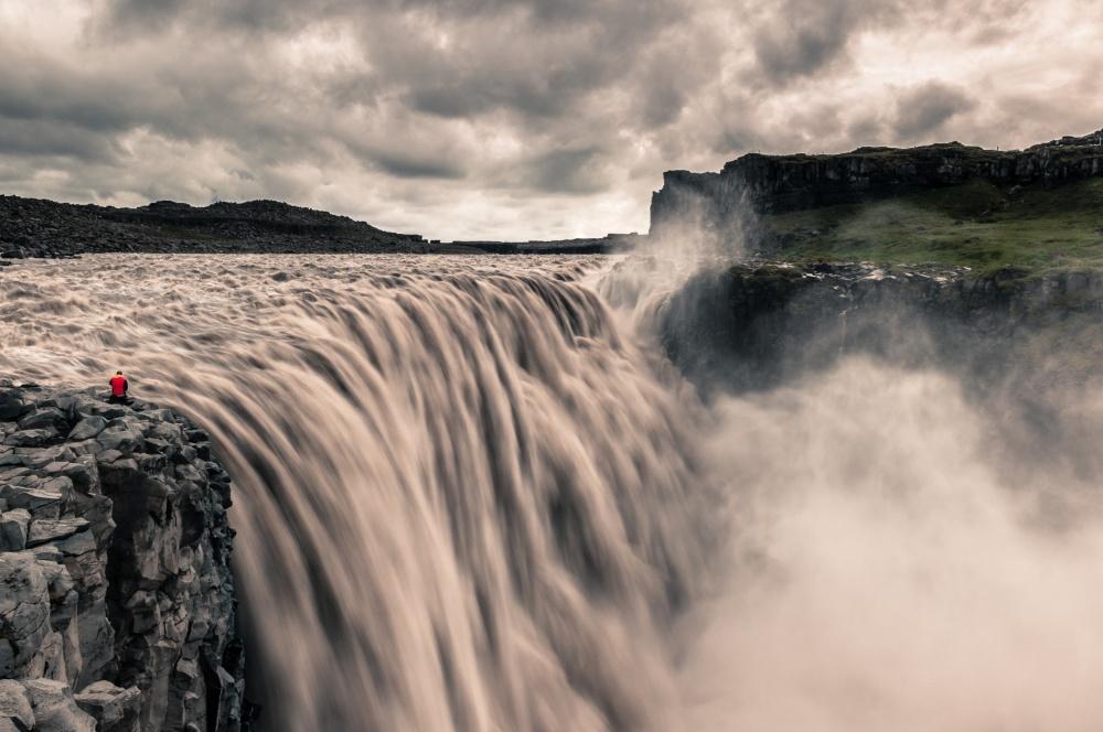 A piece of fine art art photography titled Iceland - Dettifoss by Daniel Bastos