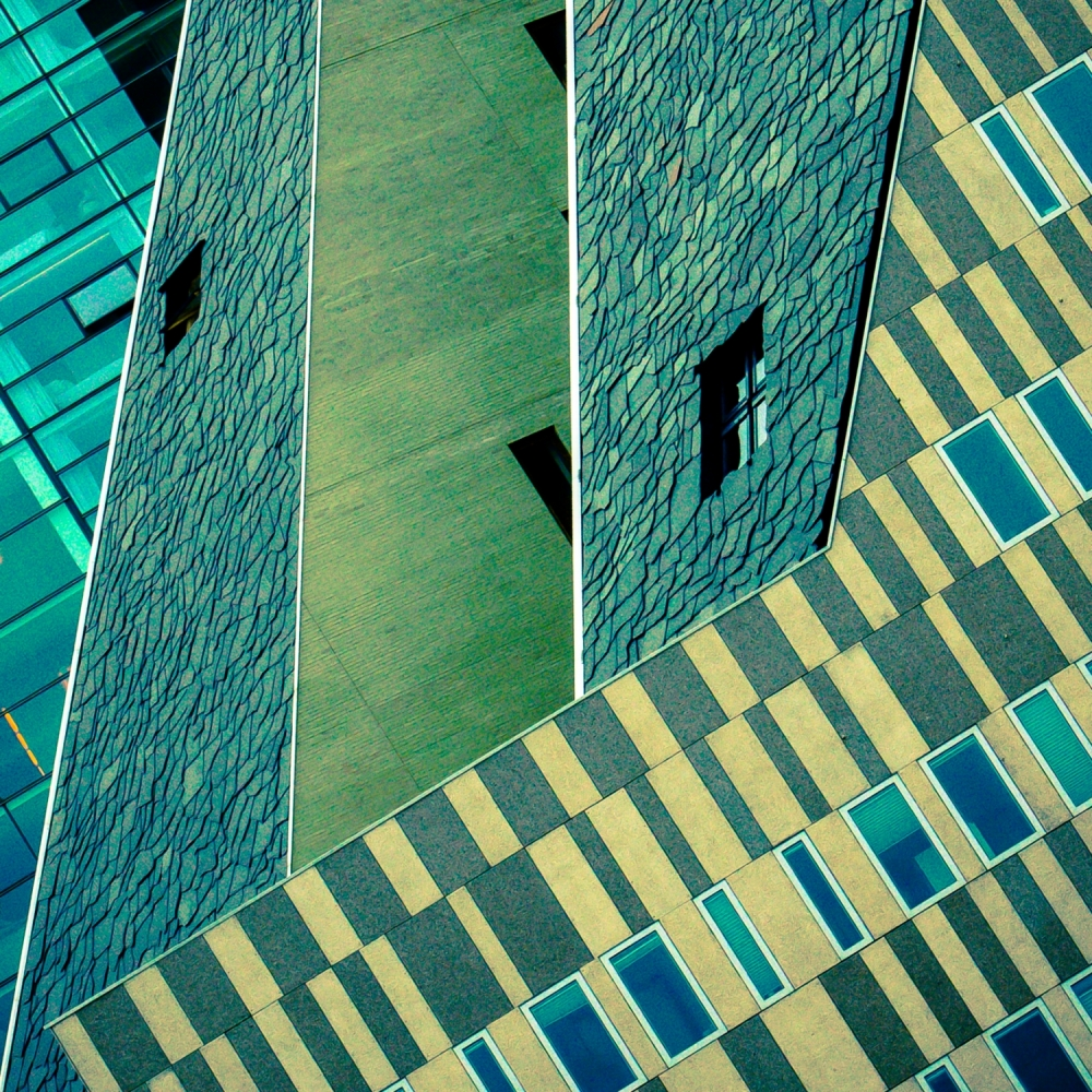 A piece of fine art art photography titled Architecture_Amsterdam by Rob1962