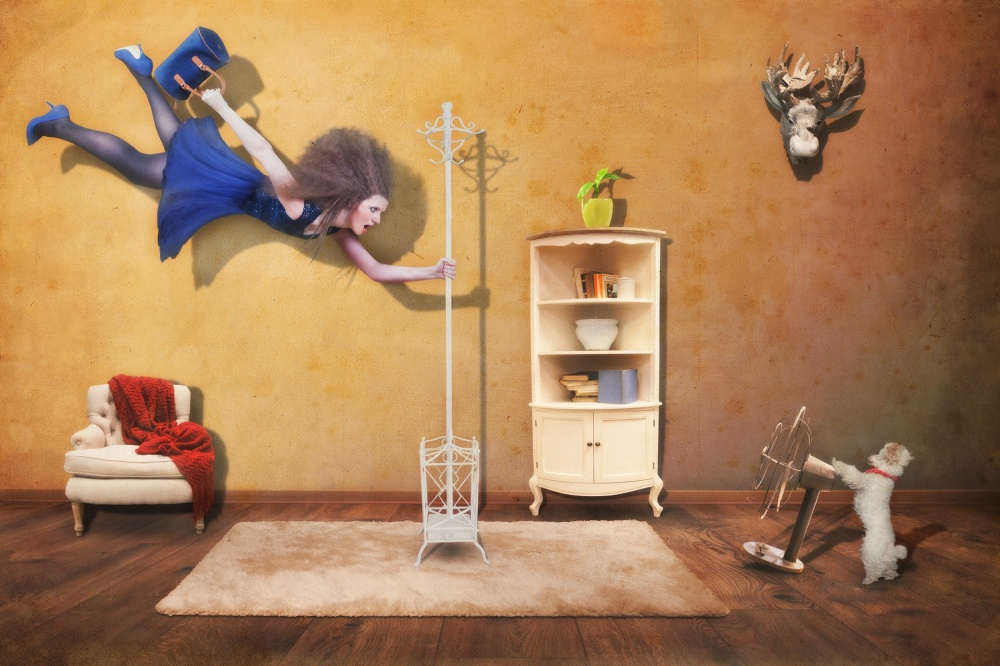 A piece of fine art art photography titled The Sweet Revenge by Martin Marcisovsky