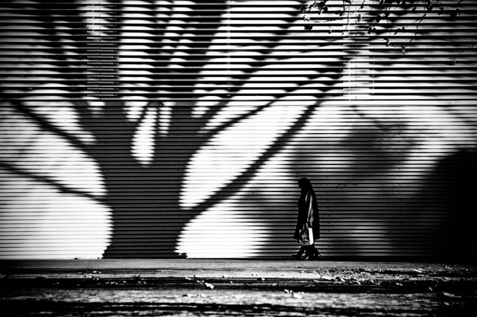 A piece of fine art art photography titled Back Next to the Shadow by Vedran Rihtaric