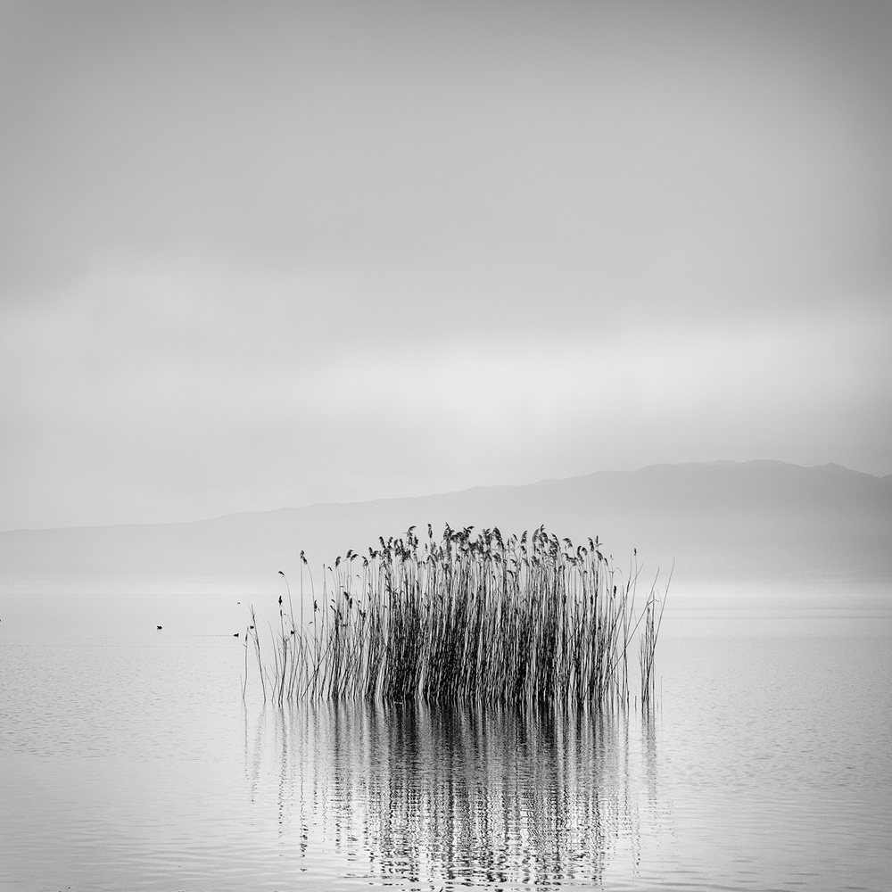 A piece of fine art art photography titled Morning Silence by George Digalakis