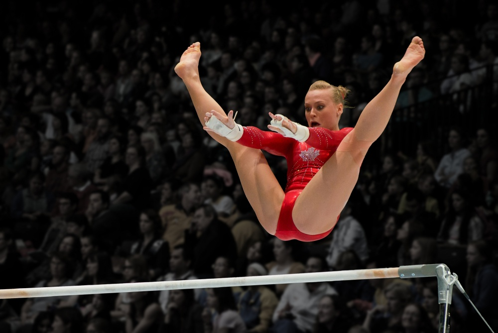 A piece of fine art art photography titled The Gymnast by Tejo Coen