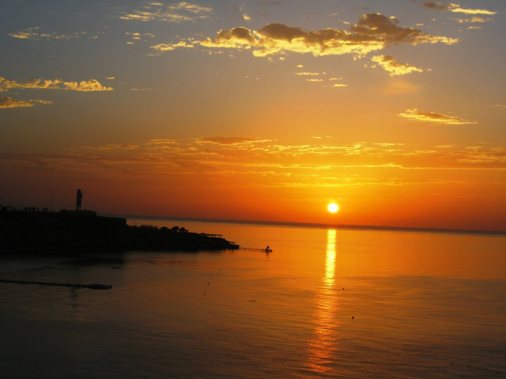 winter sunrise, Sharm el Sheikh, Egypt