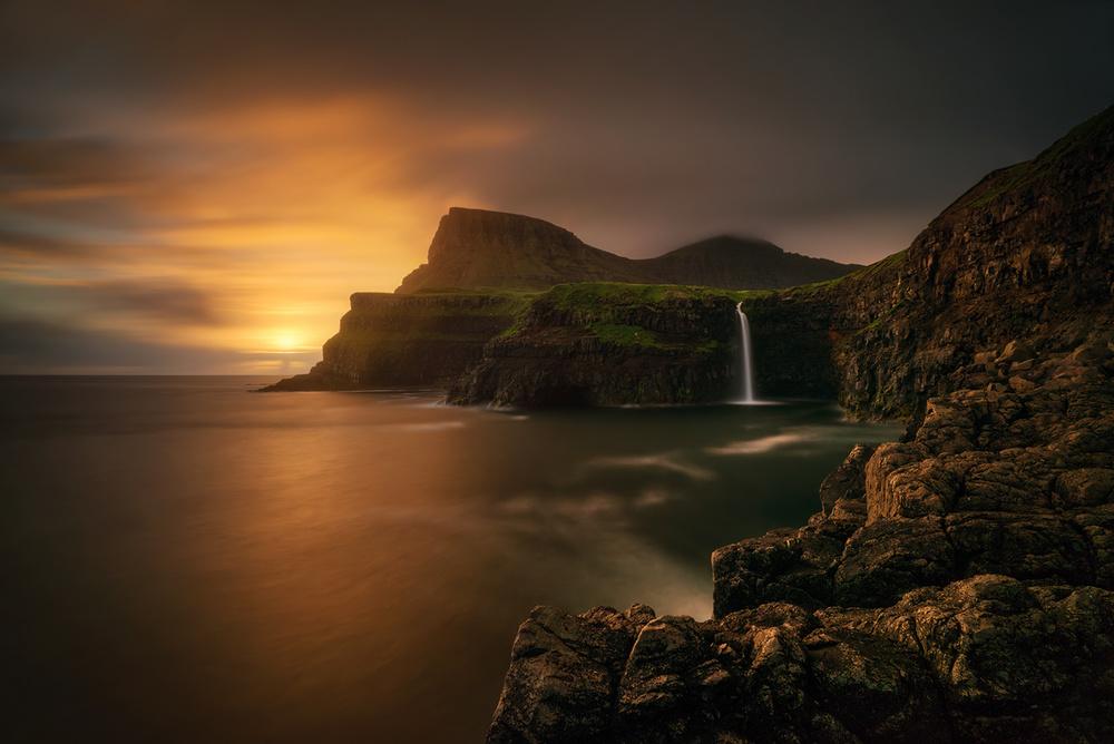Arnafjall sunset
