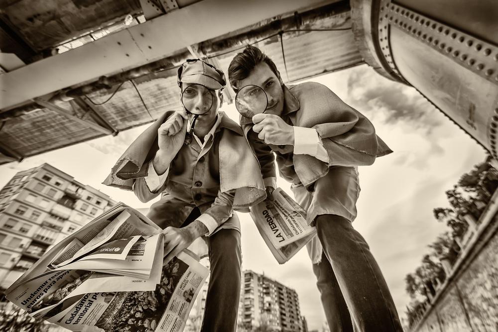 A piece of fine art art photography titled Elementary, My Dear Watson by David Ros