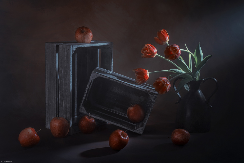 View this piece of fine art photography titled Apple Party by Margareth Perfoncio